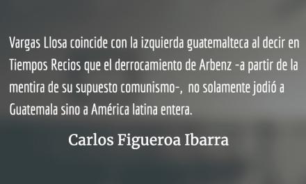 Tiempos recios, Vargas Llosa contra la ultraderecha