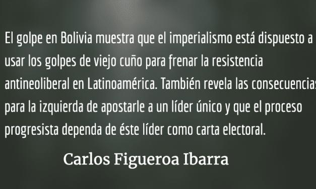 Bolivia, el golpe militar de viejo cuño