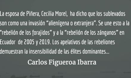 La rebelión de los alienígenas, el fracaso neoliberal en Chile