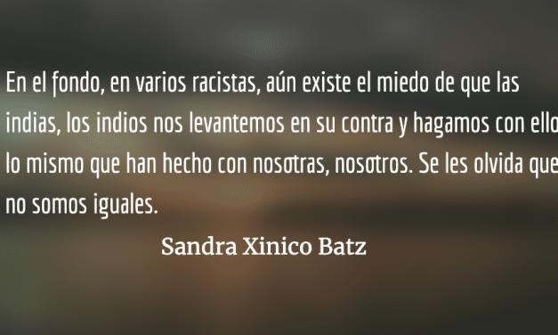 Violencia, racismo, desprecio