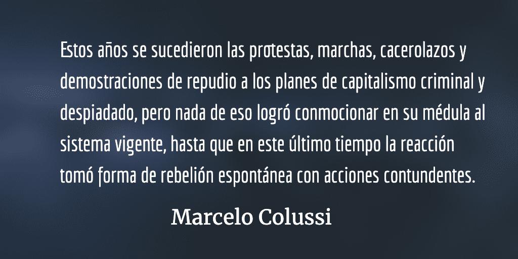 América Latina dice no al neoliberalismo