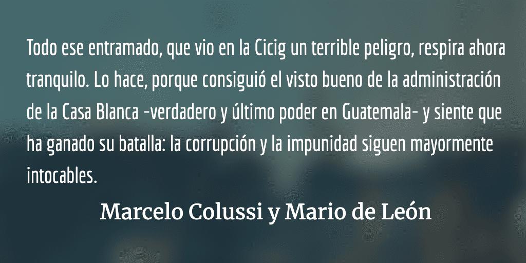 Estado, Gobierno y Elecciones en Guatemala 2019: Patetismo, Incertidumbre, Astucia y Corrupción