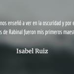 Isabel Ruiz, notas biográficas