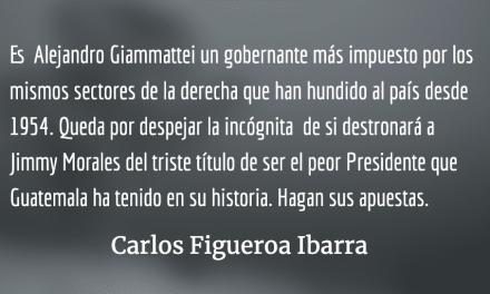 Guatemala: cuatro años más de lo mismo