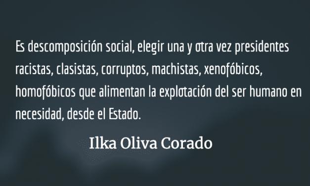 La descomposición social que somos