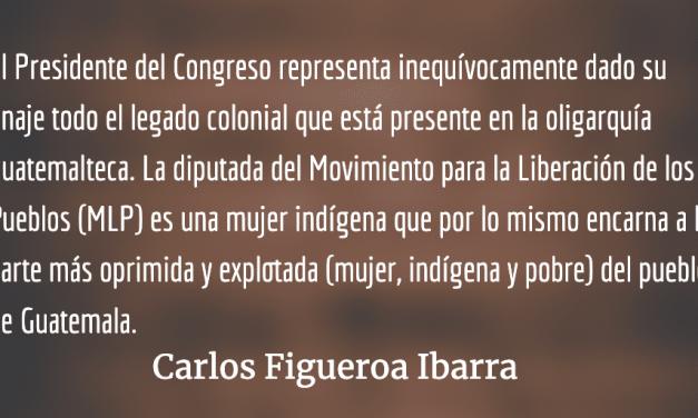 Vicenta Jerónimo, no puede haber Congreso rico con pueblo pobre