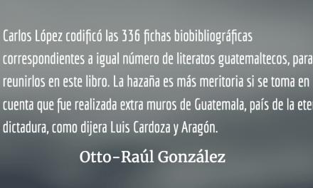 Diccionario bio-bibliográfico de literatos guatemaltecos
