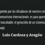 «Todo lo que hagamos por nuestro pueblo será siempre poco»: Luis Cardoza y Aragón