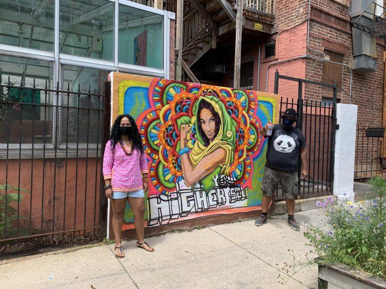 La calle y el mural