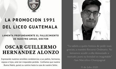Óscar Guillermo Hernández Alonzo, médico humanista