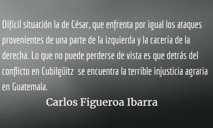 Cubilgüitz, la injusticia agraria en Guatemala