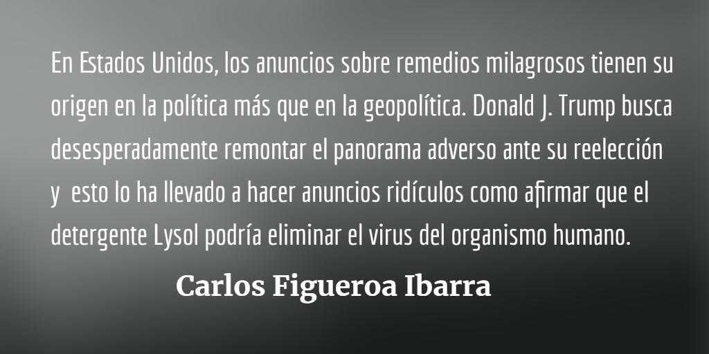 Geopolítica y política en la pandemia
