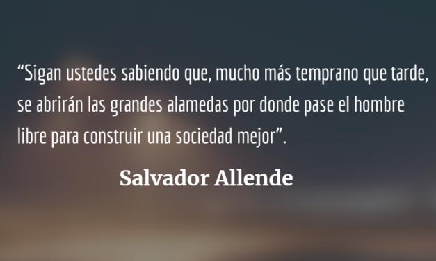 Salvador Allende, medio siglo después