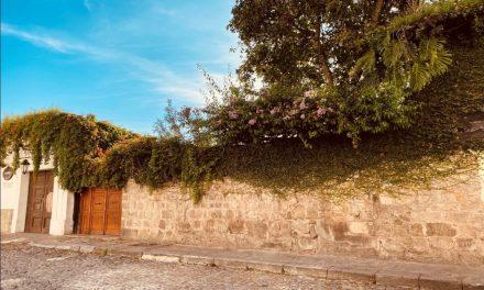 La lluvia nos llevó a la casa del poeta Luis Cardoza y Aragón