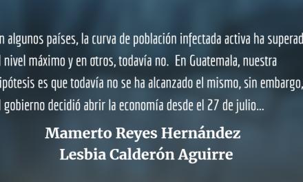 ¿Cuándo se alcanzó o se alcanzará el máximo de personas infectadas por Coronavirus en etapa activa en Guatemala?