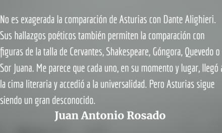 Tres de cuatro soles: Un manifiesto poético de Miguel Ángel Asturias