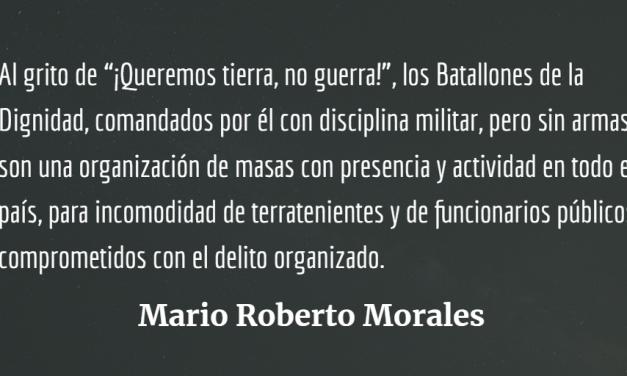 César Montes, preso político – Descalificar al símbolo para quitarle sentido a la gesta popular