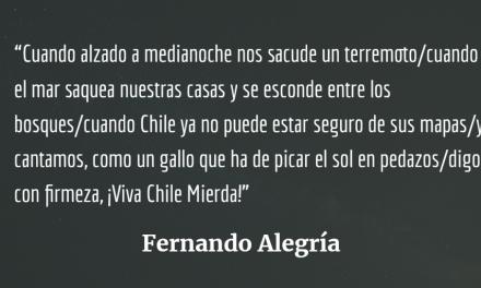 """La rebelión ciudadana. """"¡Viva Chile Mierda!"""""""