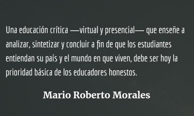 Replantear la educación:  Volver a forjar ciudadanos críticos y no técnicos analfabetos