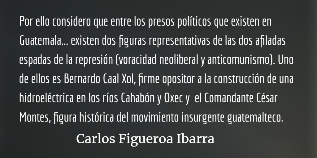 Los presos políticos en Guatemala
