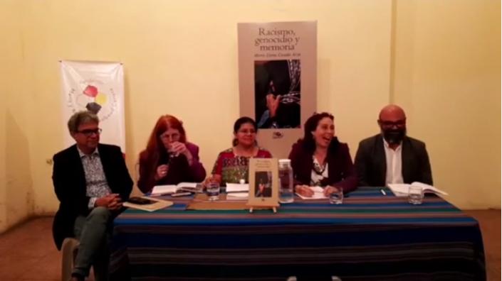 Racismo, genocidio y memoria, presentación del libro de Marta Elena Casaús Arzú