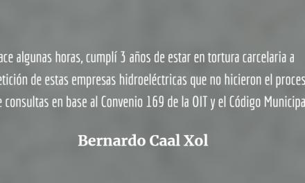 Bernardo Caal Xol y su derecho a ser escuchado por el Congreso