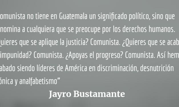 Los tres insultos que marcan la historia de Guatemala