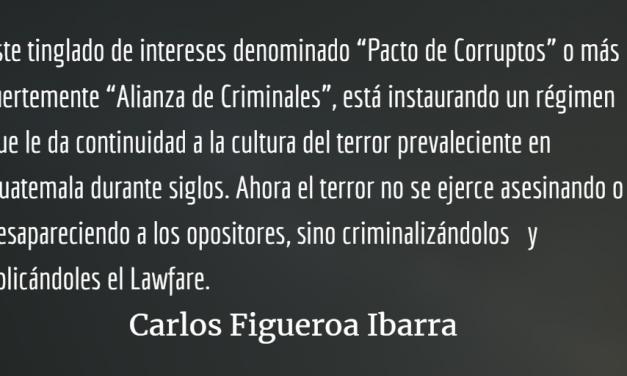 Guatemala, dictadura criminal