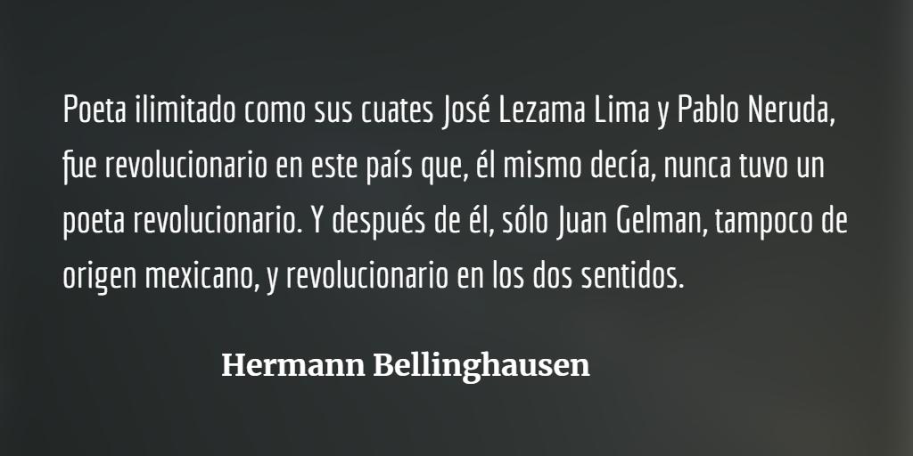 Una revolución llamada Luis Cardoza y Aragón