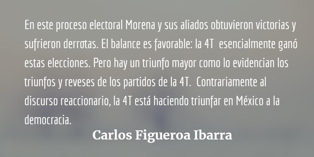 Morena,  balance electoral del 6 de junio