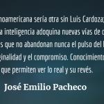 Un poeta del siglo XX, homenaje a Luis Cardoza y Aragón