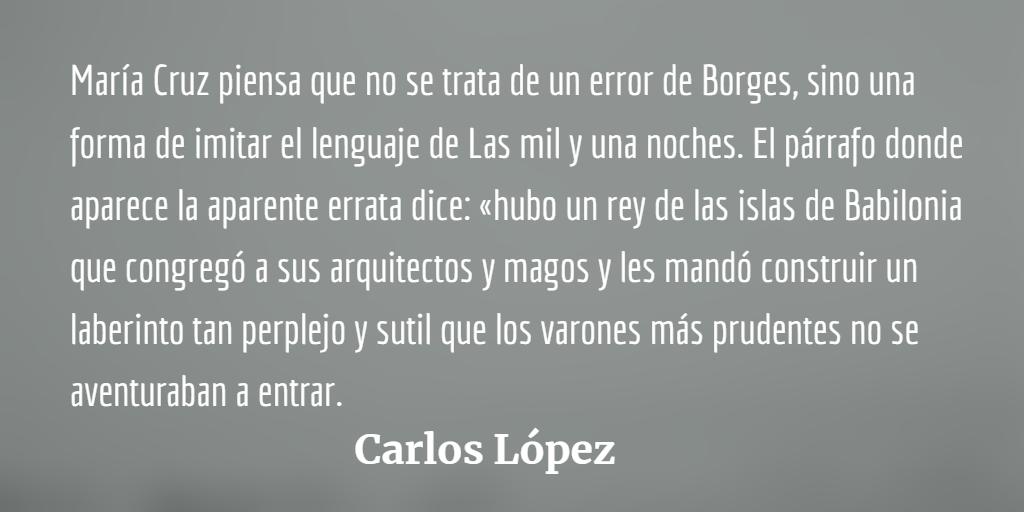 Uno de los laberintos de Borges