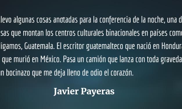 Así es la cosa, Javier Payeras homenajea en su centenario a Augusto Monterroso