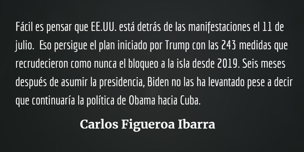 Cuba, a las calles por la revolución