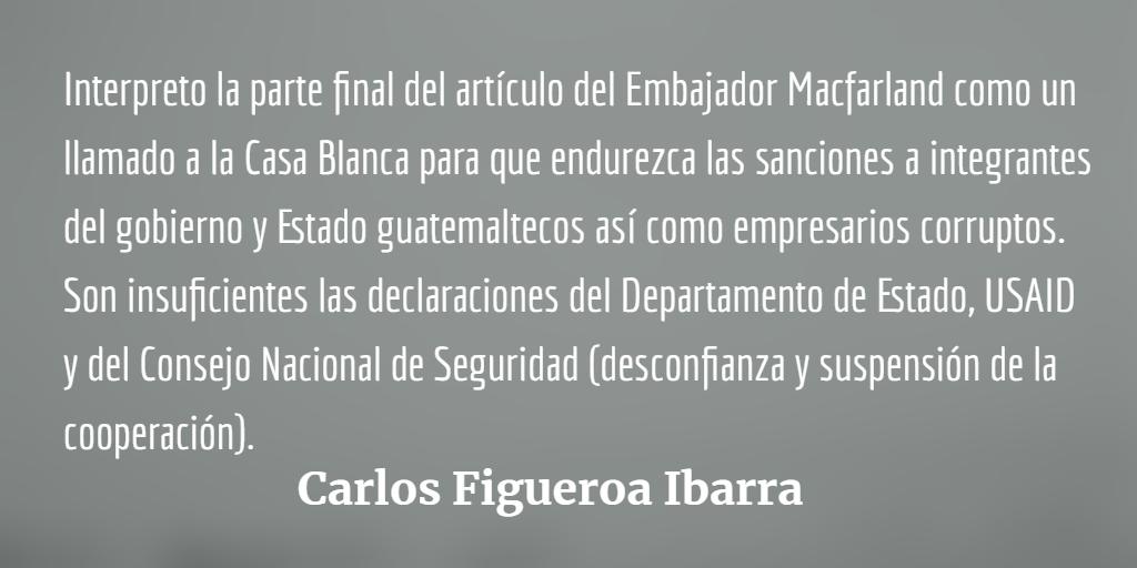 Washington y el Estado Criminal en Guatemala