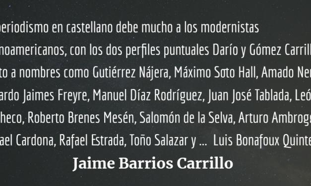 Enrique Gómez Carrillo, periodismo y crónica en el modernismo