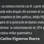 En memoria de Jorge Mario García Laguardia