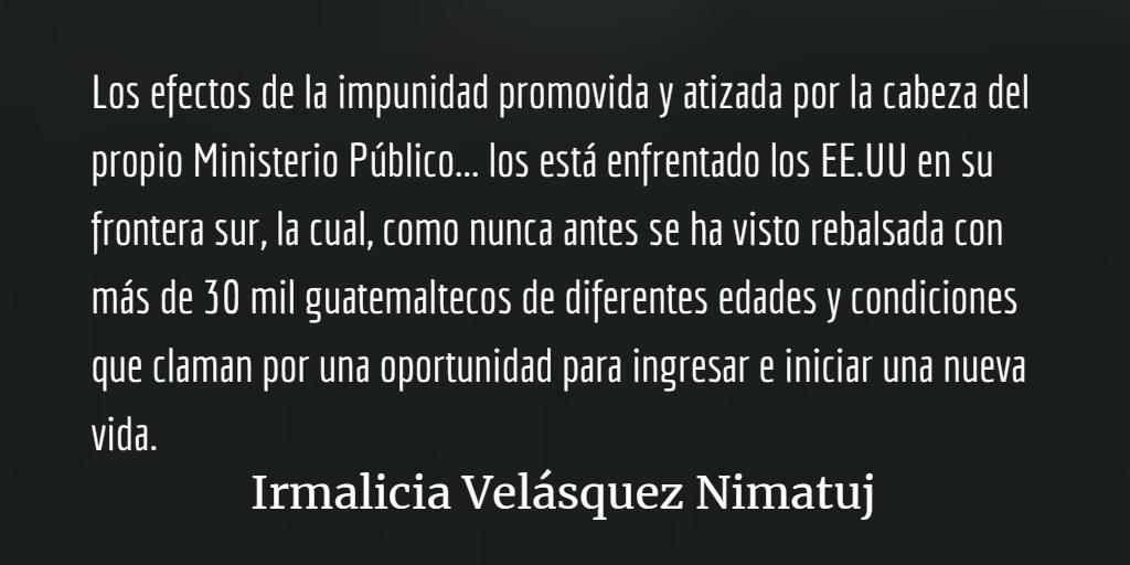 Washington enfrenta las consecuencias de su política hacia Guatemala