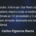 A un año de la ilegal captura y encarcelamiento de César Montes