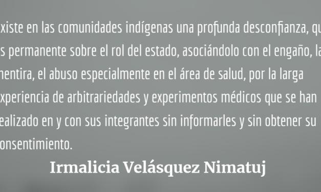 Pandemia, colonialismo y reacción desde las comunidades