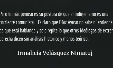 El indigenismo: ¿Un ataque a España?