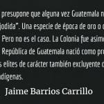 """Barrios Carrillo: """"Sin justicia no hay libertad, ni igualdad y menos fraternidad"""""""